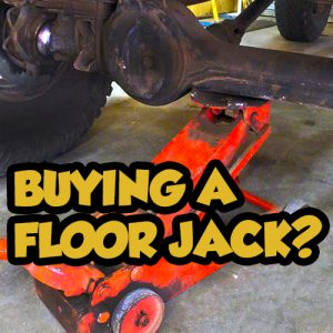 5 factors when buying a floor Jack