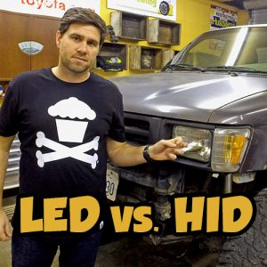Snailtrail4x4 LED vs. HID Toyota off road