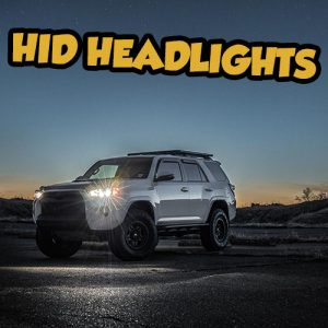 Snailtrail4x4 HID low beam Toyota 4runner