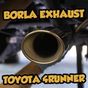 Snailtrail4x4 Borla Exhaust Toyota 4runner