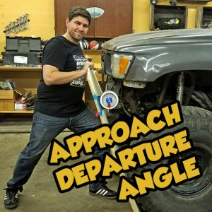 Toyota Approach and Departure Angle