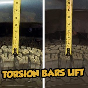Toyota Torsion Bars Lift