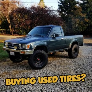 Toyota Used Tires