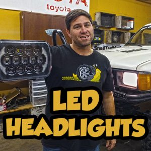 Toyota 4Runner LED Headlights