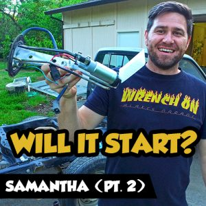 4wd Samantha - will it start