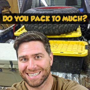 Packing your off-road Toyota Truck