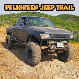 SnailTrail4x4 Peligreen Jeep Trail