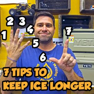 SnailTrail4x4 7 Tips to keep Ice Longer