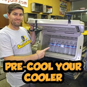 SnailTrail4x4 Pre-Cool Cooler