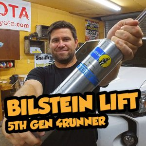 Toyota 4Runner Bilstein Lift kit
