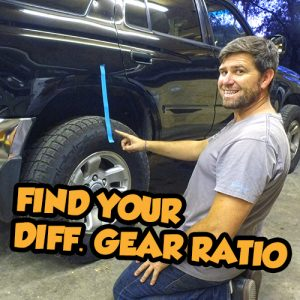SnailTrail4x4 Gear Ratio
