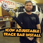 Installing an Icon Adjustable Track Bar on a 5th Gen 4Runner