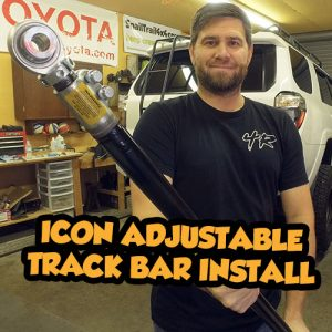 SnailTrail4x4 4runner Icon Track Bar