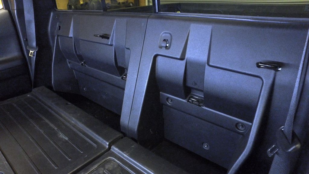 Install Behind the Seat Molle Pannels on a 3rd Gen Toyota